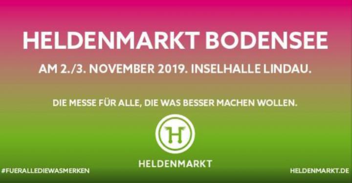 November 2 – 3, 2019 – Heldenmarkt Bodensee – Lindau – Germany