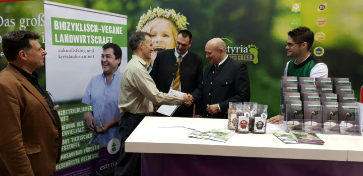 Estyria receives the quality label for biocyclic vegan agriculture