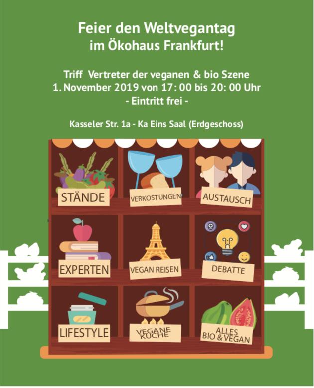 November 1st 2019 – World Vegan Day – Frankfurt – Germany