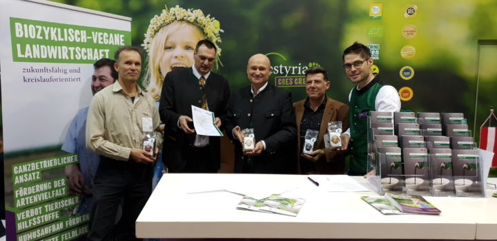 Estyria receives quality label for biocyclic vegan agriculture – NATURAL PRODUCTS GLOBAL 03.03.2020